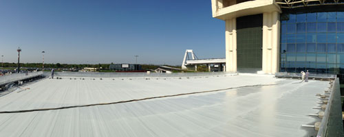 Waterproofing in Polyurea Coverflex system