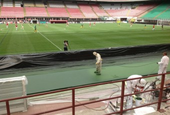 Nuova applicazione di COVERFLEX allo Stadio San Siro di MILANO