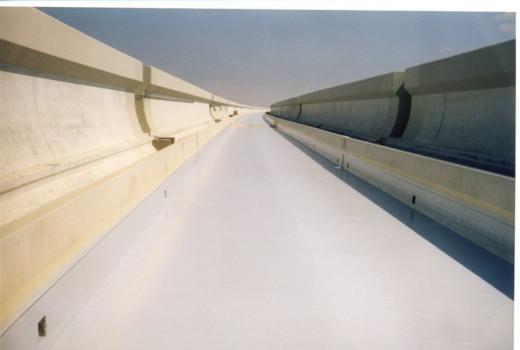Impermeabilizzazione COVERFLEX impalcato ferroviario TAV