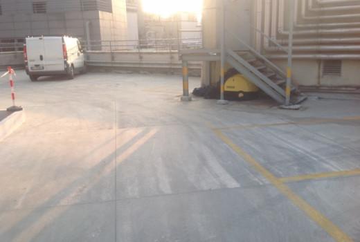 COVERFLEX PARCHEGGI su parcheggio a servizio LA RINASCENTE - MILANO