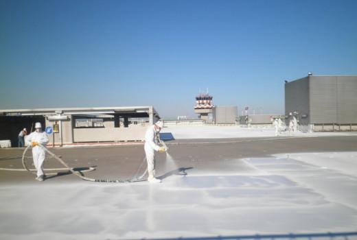 Impermeabilizzazione carrabile del parcheggio MARCO POLO PARK dell'aeroporto di Venezia