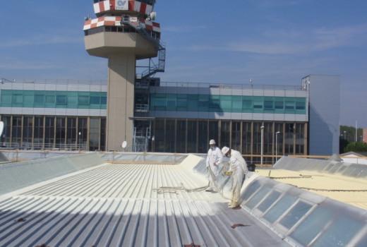COVERFLEX COPERTURE vecchia aerostazione di VENEZIA